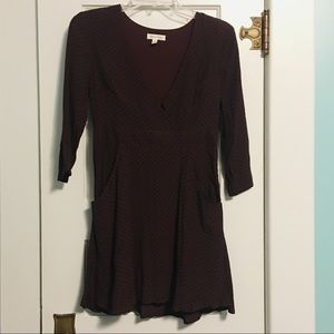 Urban Outfitters Burgundy Dress Size 0